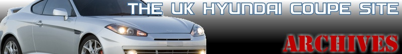 The UK Hyundai Coupe Site